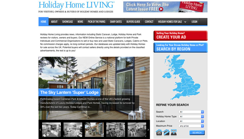 Holiday Home Living Provides News Information And Reviews For Visitors Owners Buyers Of Homes Lodges Has A National Online Platform